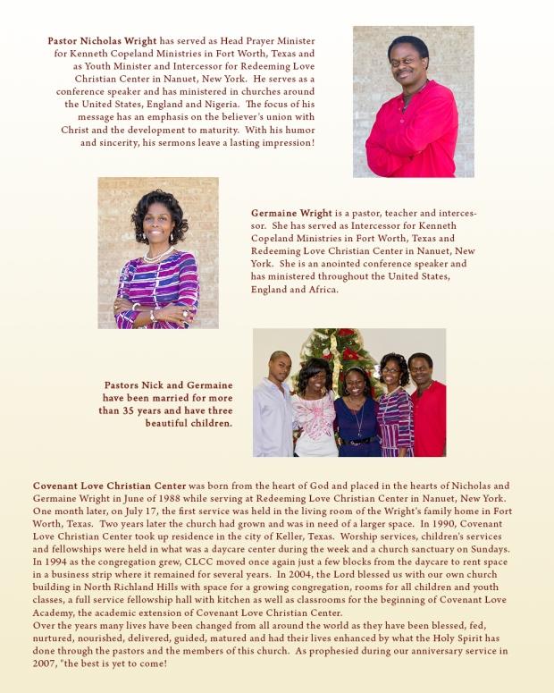 About Pastors